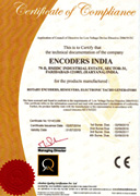 Encoders India ISO Certificate